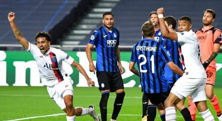 تأهل مثير لباريس سان جيرمان إلى نصف النهائي، أتلتيكو يواجه لايبزيغ