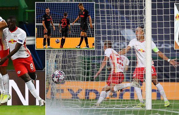 لايبزيغ يضرب موعداً مع الـ بي أس جي بعد الاطاحة بأتلتيكو مدريد 2-1