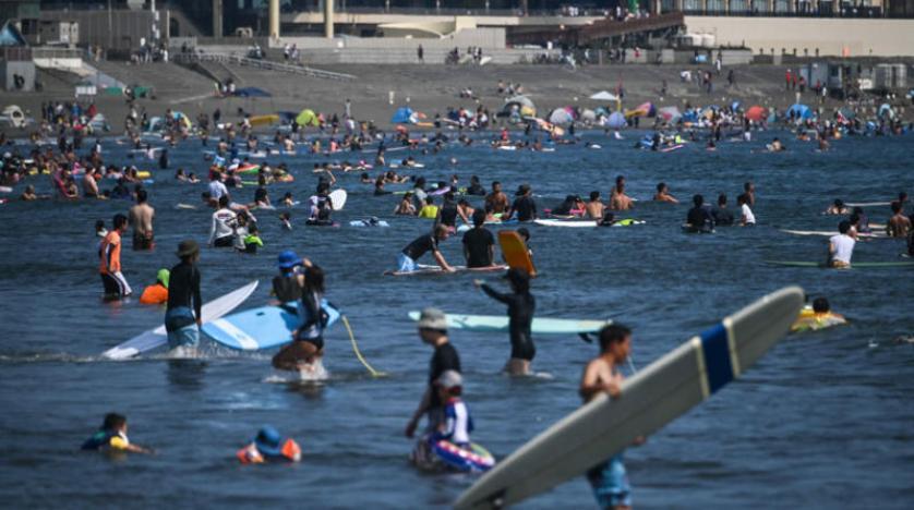 شووووب :موجة حرٍّ قياسية في اليابان تحصد 53 ضحيه