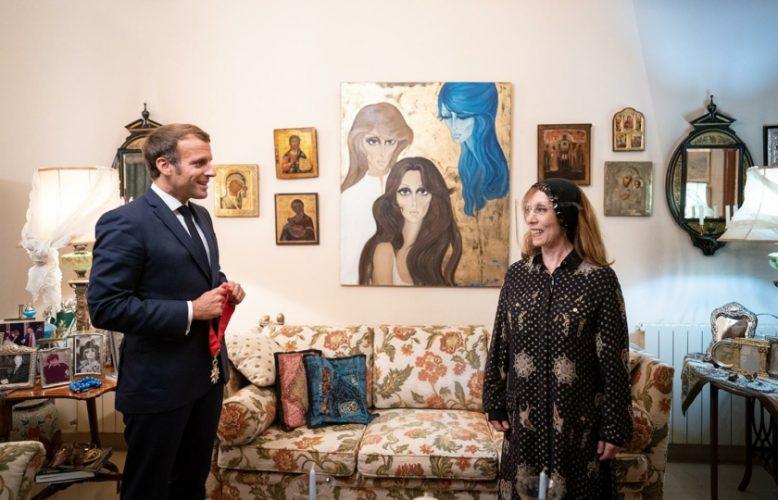 بلقيس دارغوث:من هي رسامة لوحة فيروز؟