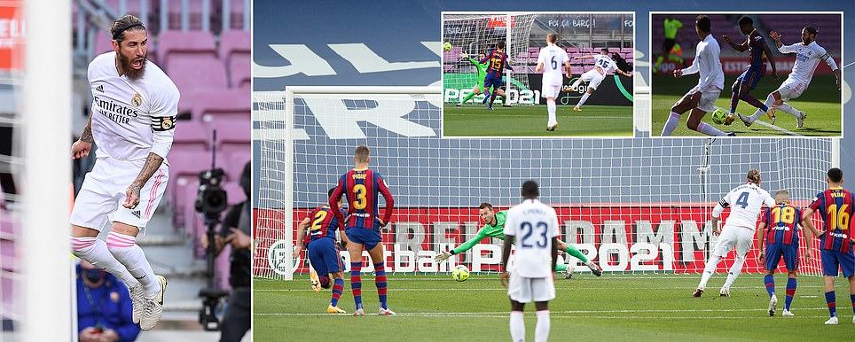 ريال مدريد يفوز وزيدان يُلقن كومان درساً,السيتي المخيب يتعادل ووست هام يونايتد,ومانشستر يونايتد وتشيلسي وفوزليفربول وكريستال بالاس يعزز موقعه بثنائية