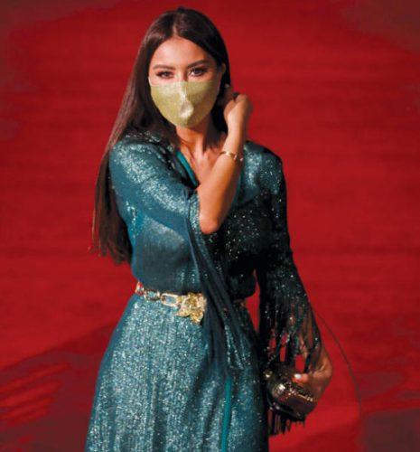 الممثلة ميساء مغربي بمهرجان الجونة السينمائي بمصر