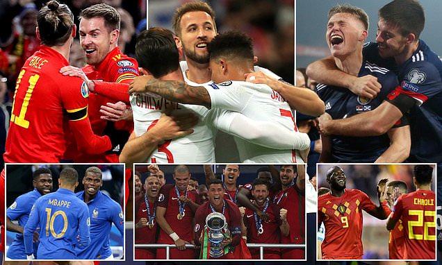 المتأهلون الى اليورو، تعادل الأرجنتين وباراغواي وريال مدريد يخطط لضم هالاند