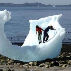 البيئة الغنية بالحياة المجهرية تذيب الغطاء الجليدي في غرينلاند