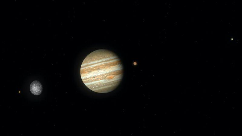 ظاهرة الاقتران العظيم: اليوم اقتران كوكبي المشتري وزحل الذي يحدث مرة واحدة في العمر