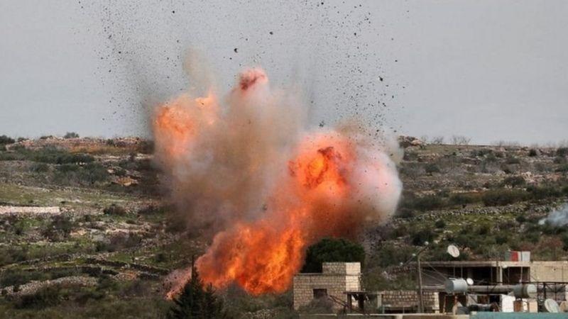 """""""قتلى وجرحى"""" في هجمات صاروخية إسرائيلية على مواقع في سوريا"""