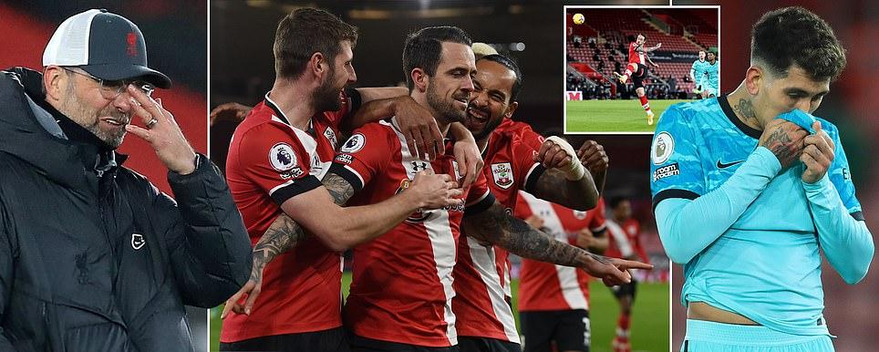 ليفربول يسقط امام ساوثامبتون والمان يونايتد المستفيد الاكبر و فالنسيا يتعادل مع قاديش