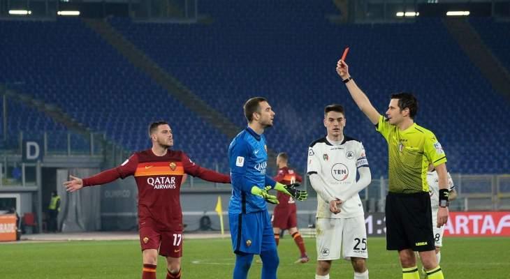 خروج مذل لروما من كأس ايطالياوالانظار الى نهائي السوبر وليستر سيتي يدخل تشيلسي في المجهول، فوز اشبيلية