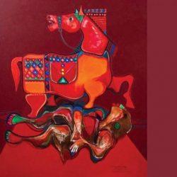 «حصان بابل»... يحرس الجندي الغافي في أرض المعركة