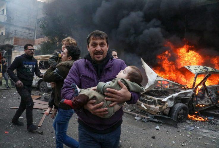 بعد انفجار عفرين..مقتل 10 وإصابة 24 في تفجيرين شمال غرب سوريا