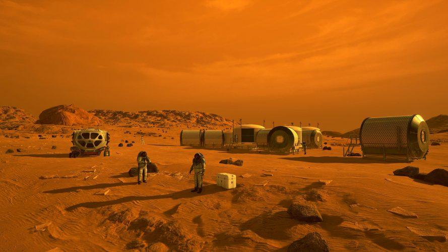 """العالم يتابع وصول مركبة ناسا بحثاً عن حياة بالمريخ في"""" 7 دقائق من """"الرعب"""".."""