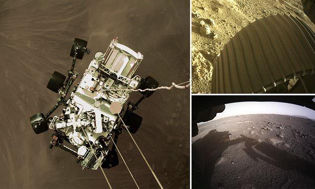 «ناسا» تنشر صوراً مذهلة لهبوط «بيرسفيرنس» على المريخ