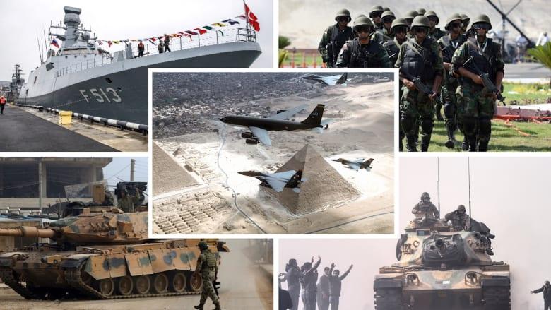 بين جيشي مصر وتركيا.. أيهما يحتل تصنيفات أعلى بإحصائية 2021؟