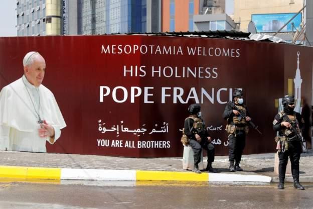 """صحف اليوم:البابا لا يريد أن""""تخيب آمال العراقيين مرة ثانية"""" وتركيا مستعدة للتفاوض مع مصر حول الحدود البحرية"""