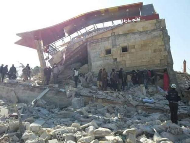 الحرب في سوريا:انهيار الليرة يؤلم السوريين ويفاجئ النظام ودراسة دولية تظهر حجم تضرر المنشآت الصحية من جراء الصراع