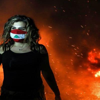 موقع درج عن لبنان: احتجاجات العمق المسيحي والهامش الإسلامي