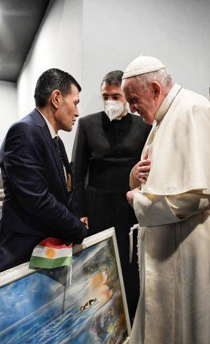 البابا فرنسيس يلتقي والد الطفل السوري آلان كردي الذي غرق مع أخيه وأمه على الساحل التركي