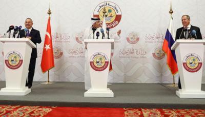 """صحف اليوم:روسيا تطلق «منصة ثلاثية» في سوريا و""""اتصالات دبلوماسية"""" بين تركيا ومصر"""