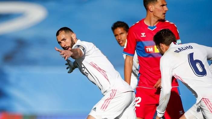 ريال مدريد يتخطي عقبة التشي والسيتي يحلّق بثلاثية في مرمى فولهام وتشيلسي يتعادل و ليدز يونايتد,رونالدو يعود لريال مدريد،
