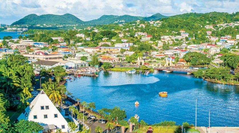 وقت ممتع في سانت لوسيا الكاريبية رغم «كورونا»