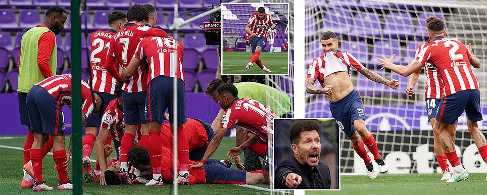 اتلتيكو مدريد يتوج بطلا للمرة 11 وبايرن يودع نجومه بخماسية امام أوغسبورغ وليفاندوفسكي يكسر رقم الاسطورة مولر