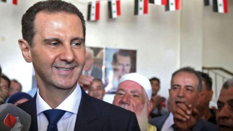 """صحف عربية:منافسة بشار الأسد في انتخابات الرئاسة ما بين """"المسرحية"""" و""""التحول التاريخي"""" -"""