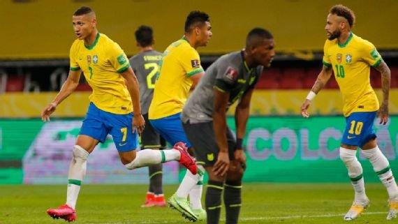 البرازيل تتخطى الإكوادور، رباعية لايطاليا،وثلاثية للسويد وتهمة تلاعب في رولان غاروس ورومان راينز يعتدي بعنف على الثنائي ميستيريو
