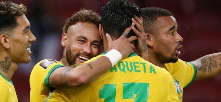 فوز البرازيل، تعادل الارجنتين، اصابة بنزيما تثير قلق فرنسا، هوبس يهزم هومنتمن وفينسنت أبو بكر يوقع للنصر السعودي