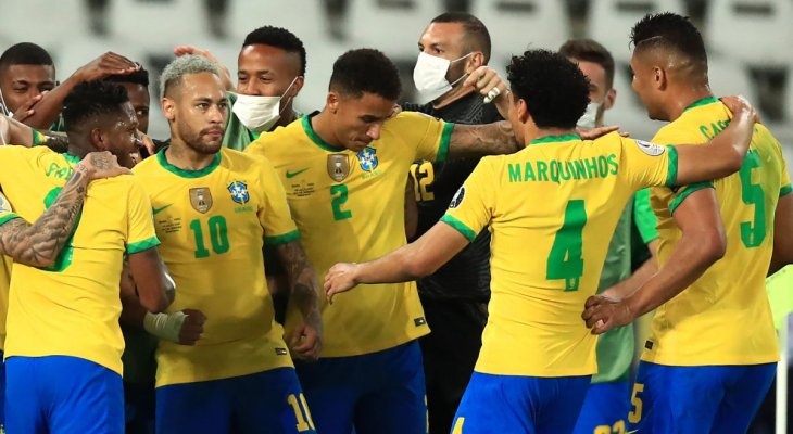 البرازيل الى نهائي كوبا أميركا، قمة كروية بين ايطاليا وإسبانيا والعمري افضل لاعب في غرب اسيا