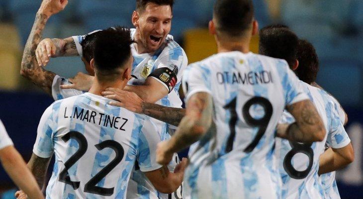 الأرجنتين تضرب موعدا مع البرازيل في نهائي كوبا اميركا، ايطاليا الى نهائي يورو 2020 والصانز يتقدم على الباكس في السلسلة