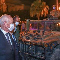 صحف:تونس: تجميد البرلمان وتولي سعيد السلطة منفرداً؟ وألمانيا تعرب عن قلقها حيال التطورات