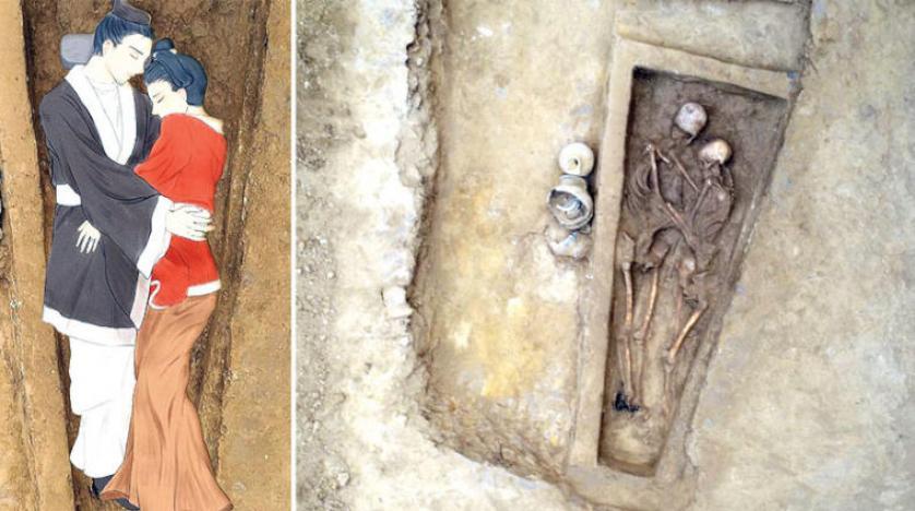 حضن أبدي بين زوجين صينيين عمره 1500 عام و «تيك توك» تتيح فرصة التبضع مباشرة من منصتها