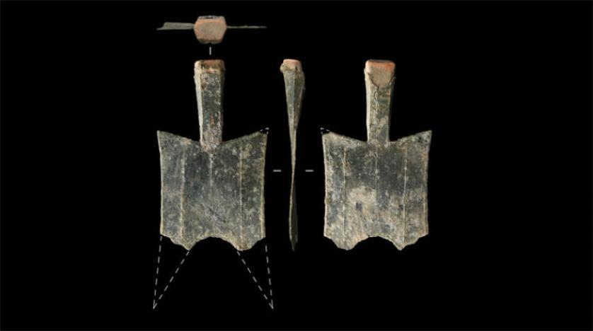 اكتشاف أقدم ورشة في العالم لسك النقود المعدنية وسط الصين