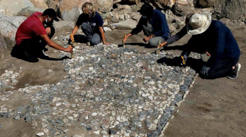 فسيفساء عمره 3500 عام في تركيا