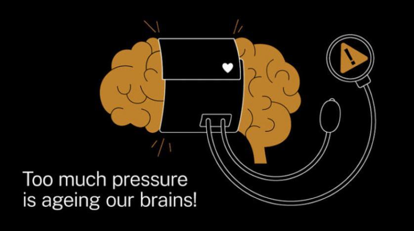 الضغط الأمثل يبطئ تقدم عمر العقول